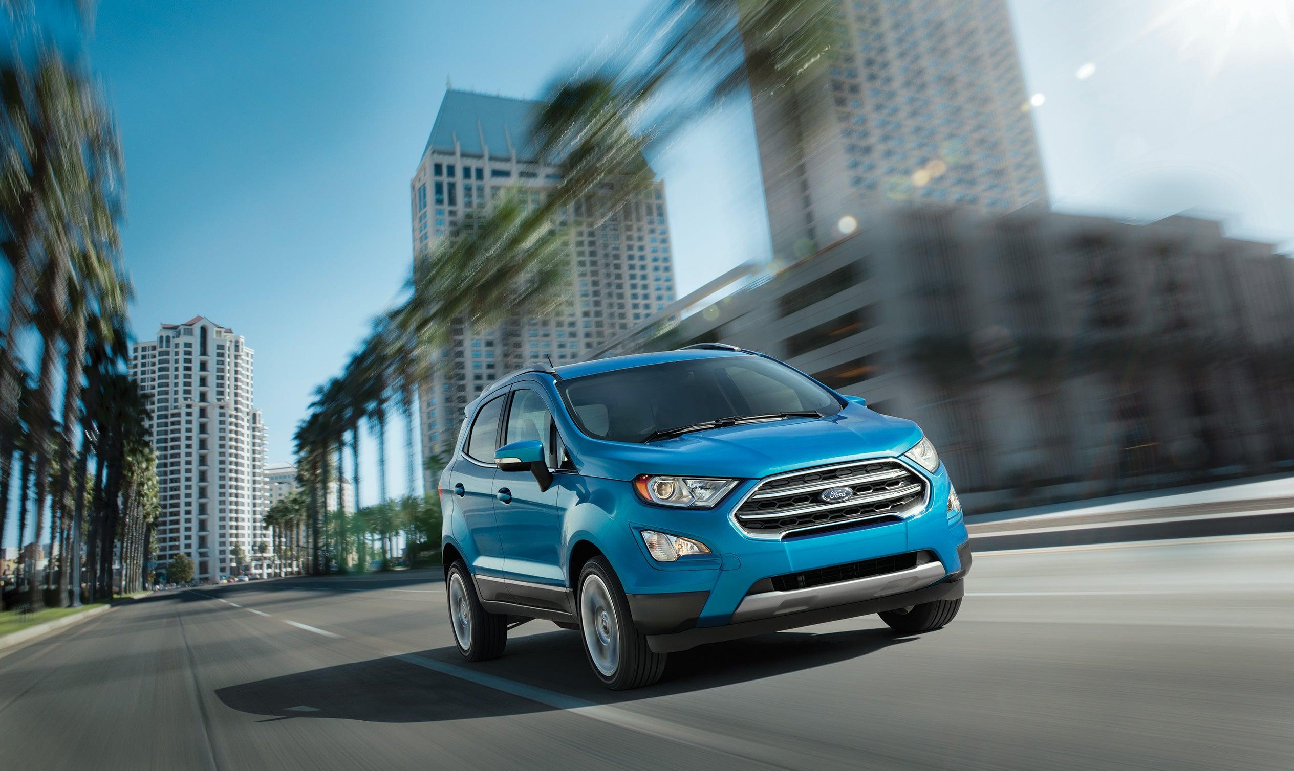 New 2020 Ford Ecosport Se Awd Varsity Ford Specials Ann Arbor Mi