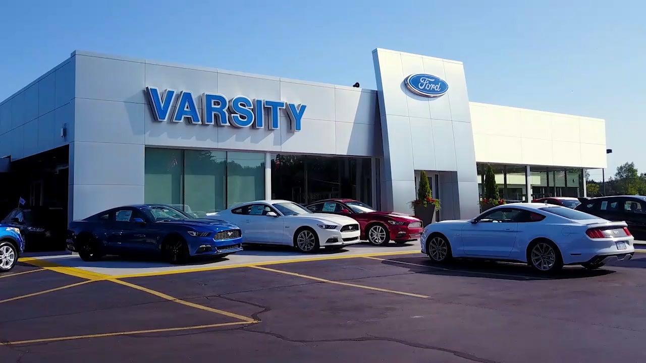 Dealerships Open On Sunday >> Ford Dealer In Ann Arbor Mi Used Cars Ann Arbor Varsity Ford